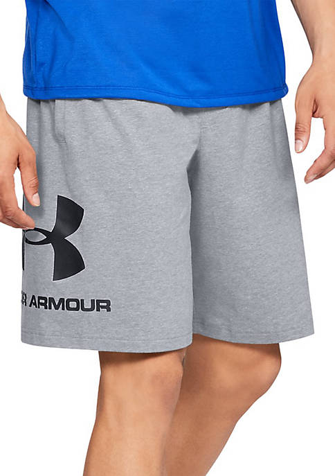 Under Armour® Sportstyle Cotton Graphic Shorts