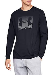 Under Armour® Sportstyle Boxed Long Sleeve T Shirt