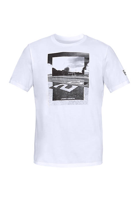 Under Armour® Football Photoreal Split Hem T Shirt