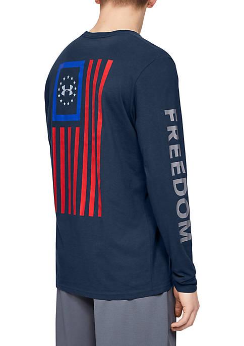 Under Armour® Freedom New Flag Long Sleeve T