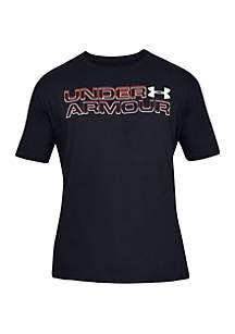 032678d51aa ... Sleeve Tee · Under Armour® High Definition Wordmark T Shirt