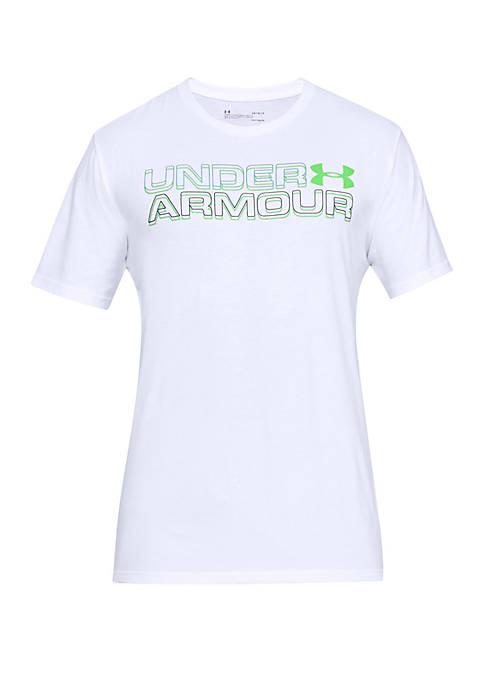 Under Armour® High Definition Wordmark T Shirt