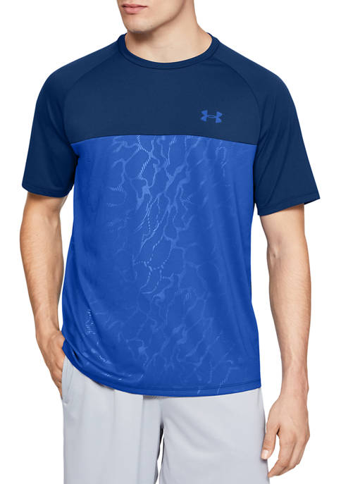 Under Armour® Tech 2.0 Short Sleeve Embossed Graphic