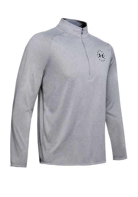 Under Armour® Freedom Tech™ 2.0 1/2 Zip T-Shirt