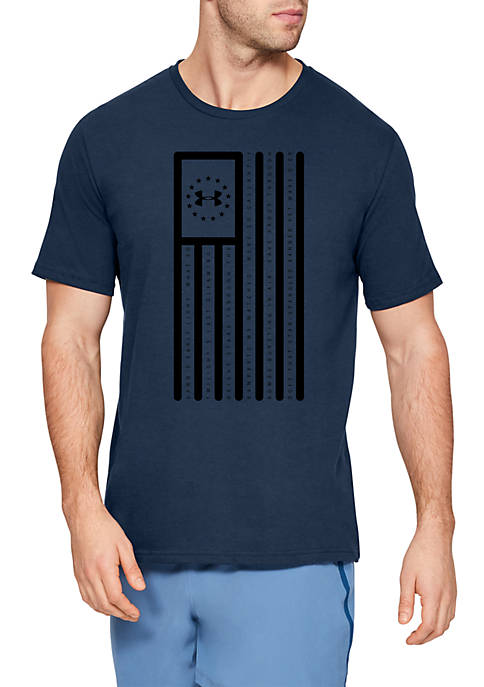Freedom Star Spangled Flag T Shirt