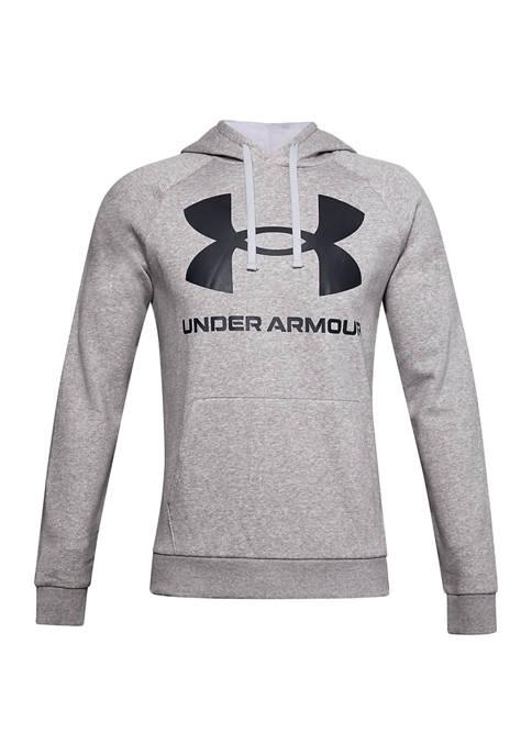 Under Armour® Rival Fleece Big Logo Hoodie
