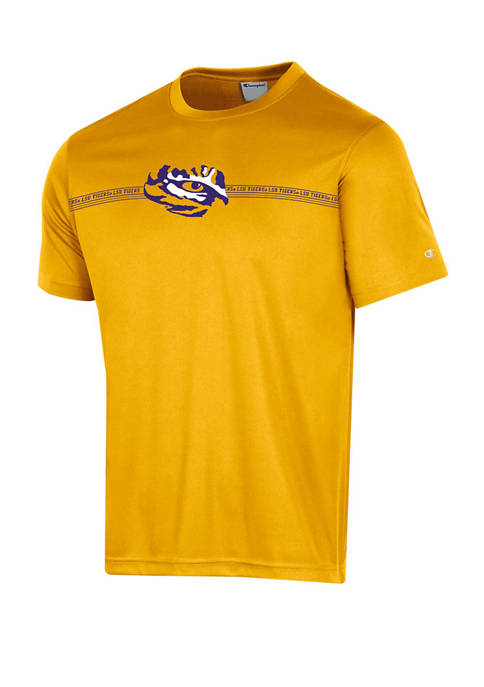 NCAA LSU Tigers Impact Athletic Fit Graphic T-Shirt