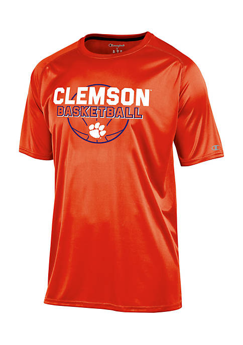 KNIGHTS APPAREL Clemson Tigers Impact Short Sleeve Tee