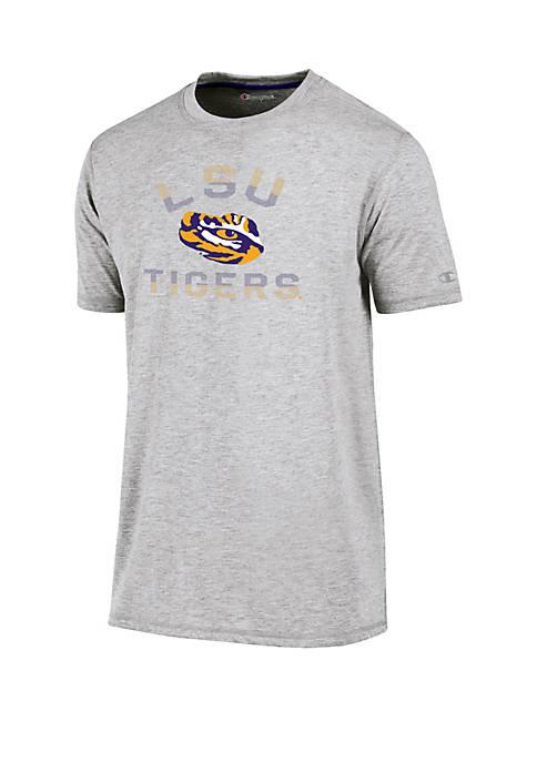 KNIGHTS APPAREL Champion® LSU Tigers Short Sleeve Touchback