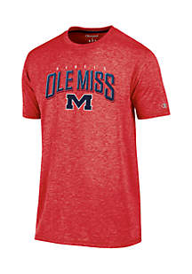 Ole Miss Touchback Short Sleeve Tee