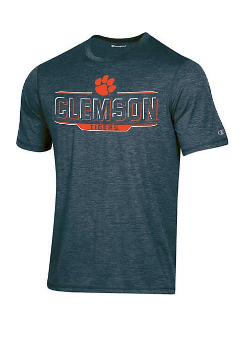 KNIGHTS APPAREL Champion® Clemson Tigers Short Sleeve Motion