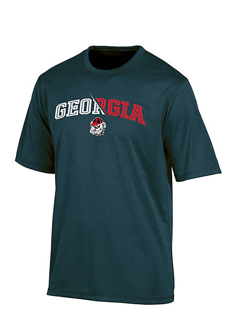 KNIGHTS APPAREL Georgia Bulldogs Motion Infinity Short Sleeve