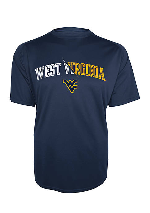 KNIGHTS APPAREL WVU Mountaineers Motion Infinity Tee