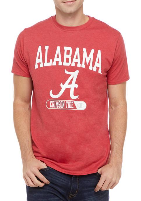 Champion® NCAA Alabama Crimson Tide Graphic Heathered T-Shirt