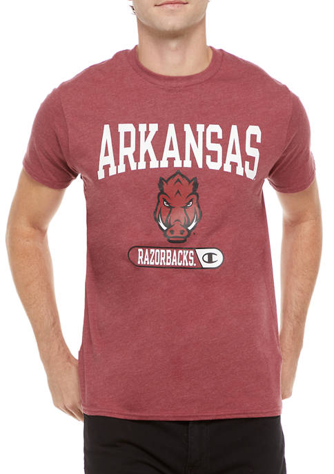 NCAA Arkansas Razorbacks Graphic Heathered T-Shirt