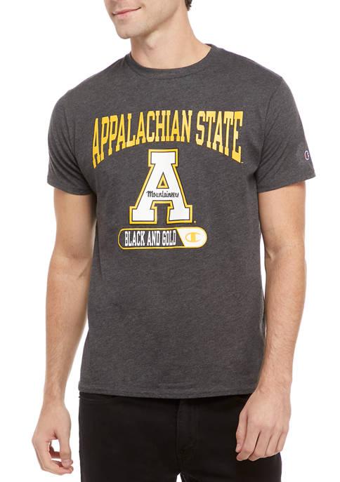 Champion® NCAA Appalachian State Mountaineers Graphic Heathered