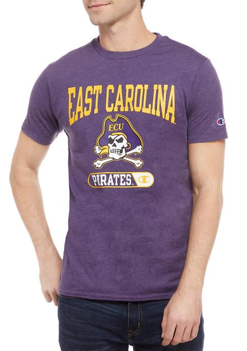 Champion® NCAA ECU Pirates Graphic Heathered T-Shirt