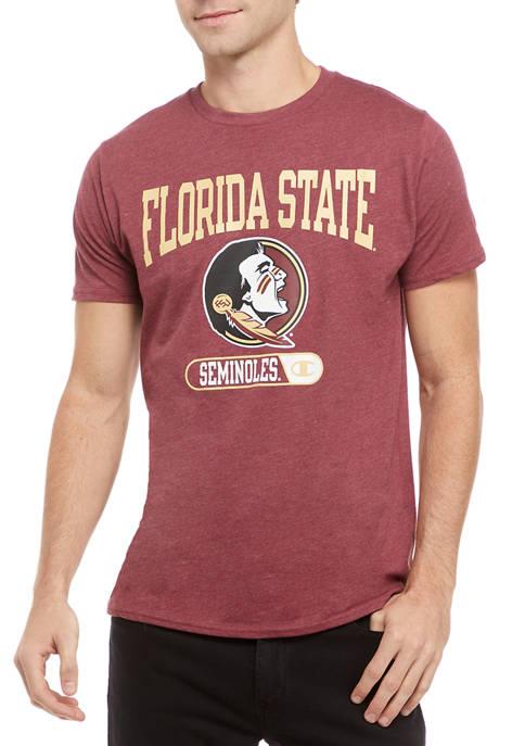 NCAA FSU Seminoles Graphic Heathered T-Shirt