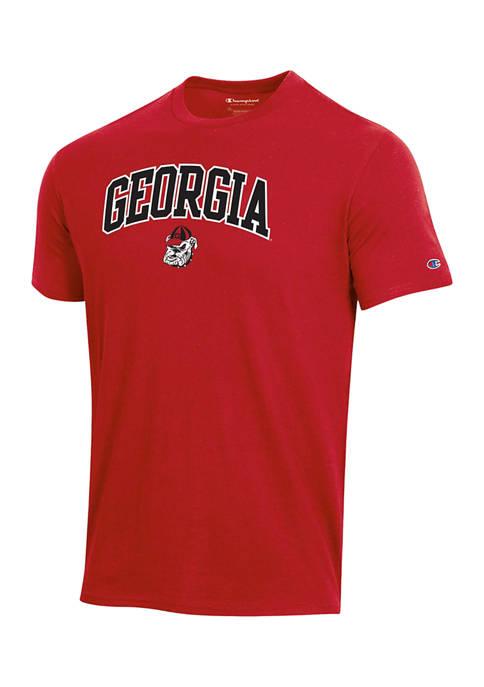 Champion® NCAA Georgia Bulldogs Short Sleeve Graphic T-Shirt