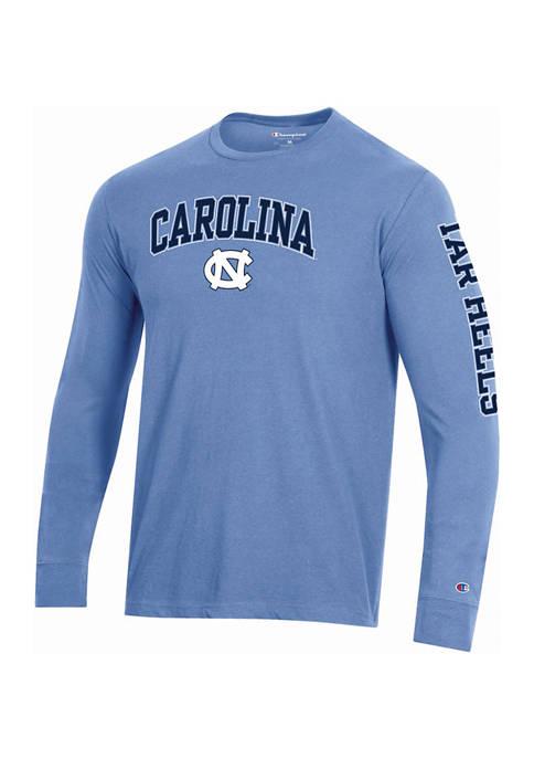 Champion® NCAA UNC Tar Heels Long Sleeve Wordmark