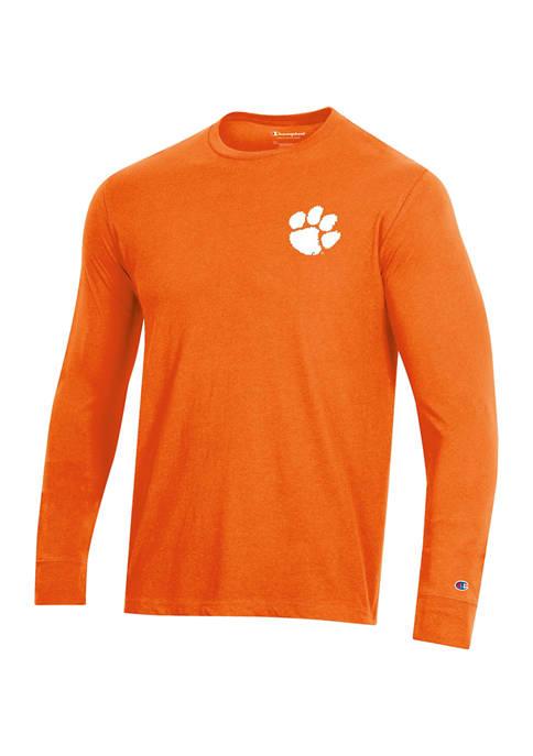Champion® NCAA Clemson Tigers Wordmark Long Sleeve Graphic
