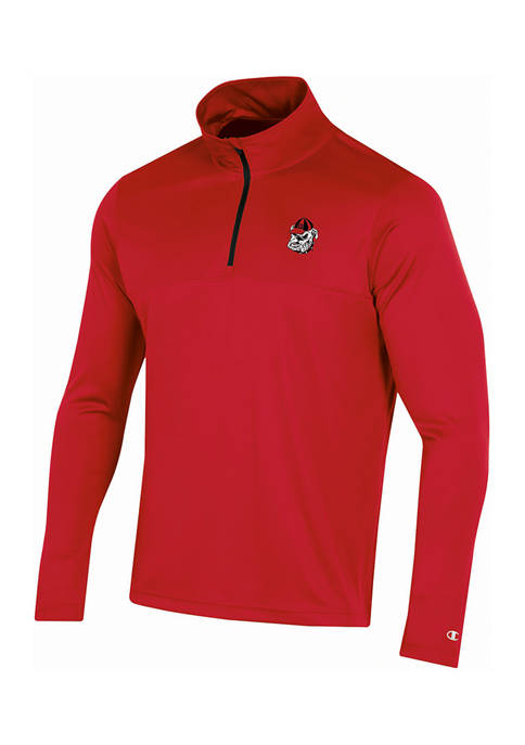 Champion® NCAA Georgia Bulldogs Impact 1/4 Zip Jacket