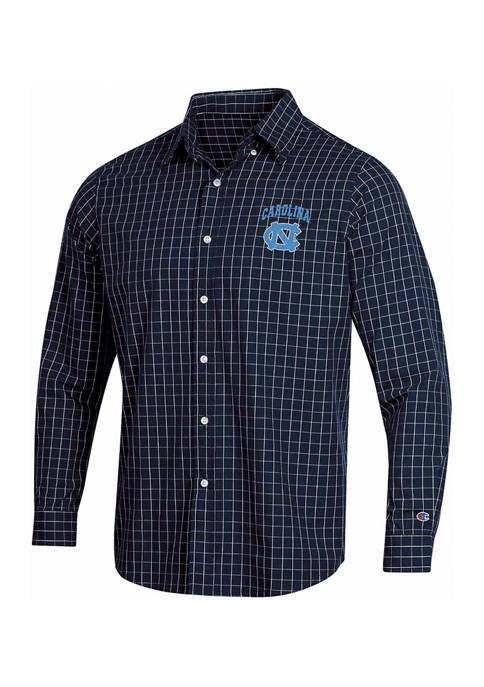 NCAA UNC Tarheels Button Down Woven Shirt