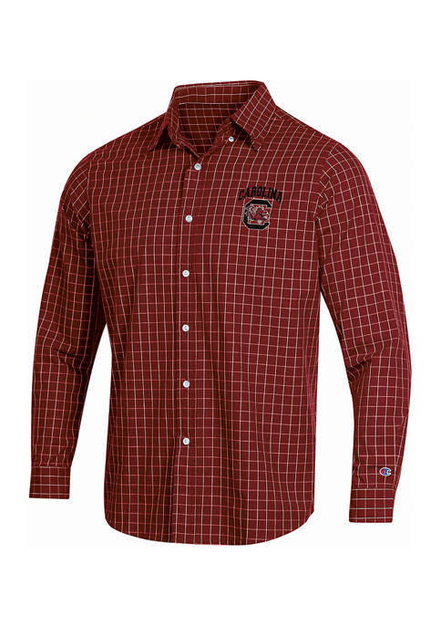 Champion® NCAA South Carolina Gamecocks Button Down Woven