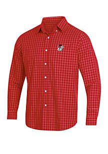 KNIGHTS APPAREL Georgia Bulldogs Button Down Woven Shirt