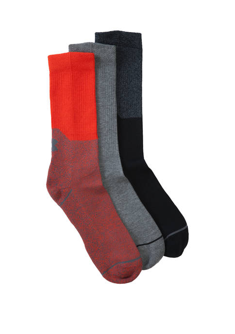 Under Armour® Set of 3 Phenom Crew Socks