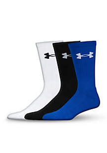 Elevated Performance Crew Socks 3-Pack