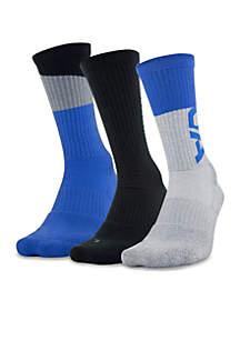 3-Pack Phenomenal 3.0 Crew Socks