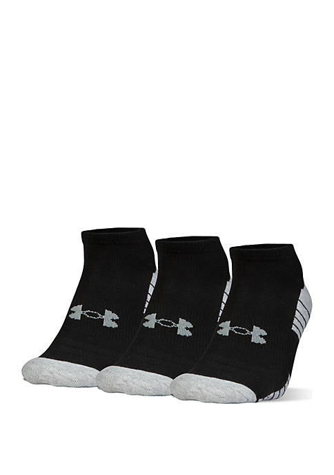 Under Armour® 3 Pack No Show Socks with