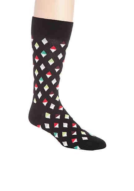 Happy Socks® Unisex Combed Cotton Crew Sock ...