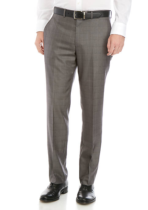 Billy London Silver Plaid Suit Separate Pants