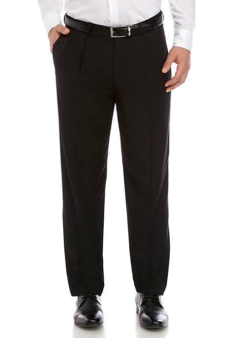 Dockers® Straight Fit Pleated Performance Solid Trousers