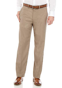 Dockers® Straight Fit Flat Front Performance Solid Trousers