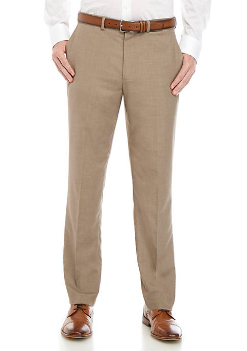 Dockers® Slim Fit Flat Front Performance Solid Trousers