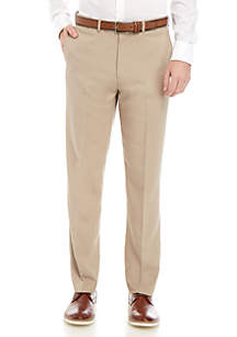 Dockers® Slim Fit Flat Front Stretch Waistband Solid Trousers