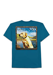 Big & Tall Low Country Lab Graphic Tee