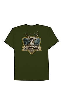Big & Tall White Tail Deer Shirt