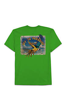 Big & Tall Off To Paradise Tee