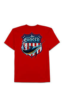Big & Tall American Chaser Tee
