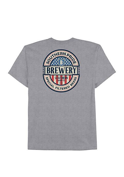 Saddlebred® Short Sleeve American Label Shirt