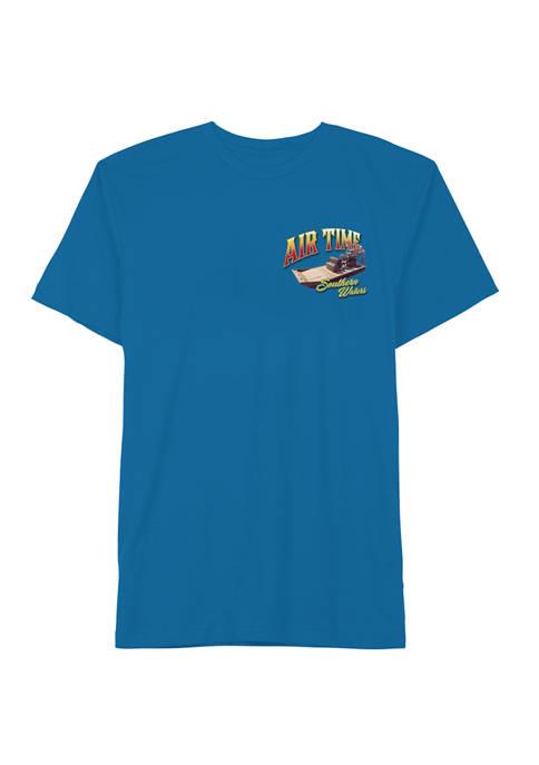 Big & Tall Air Time Short Sleeve Graphic T-Shirt