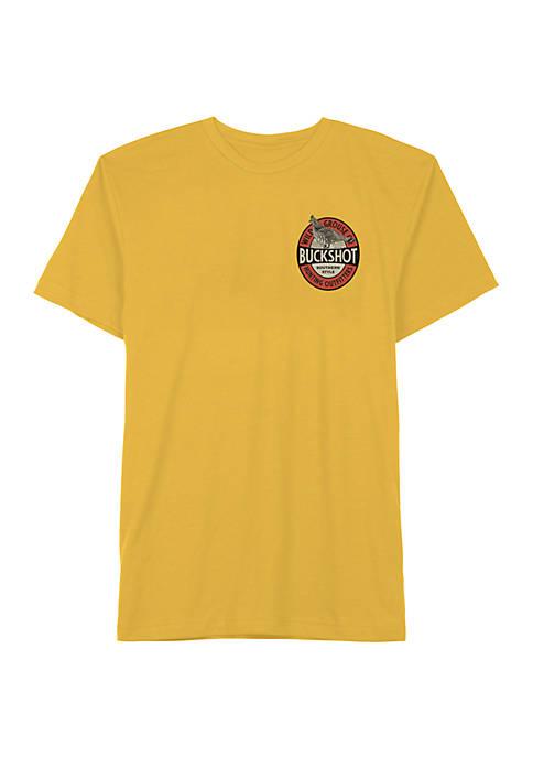 Big & Tall Short Sleeve Buckshot Graphic T-Shirt