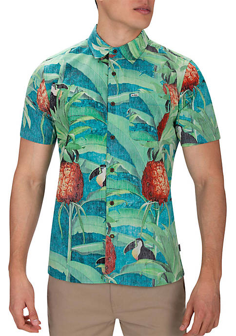 Hurley® Costa Rica Short Sleeve Shirt