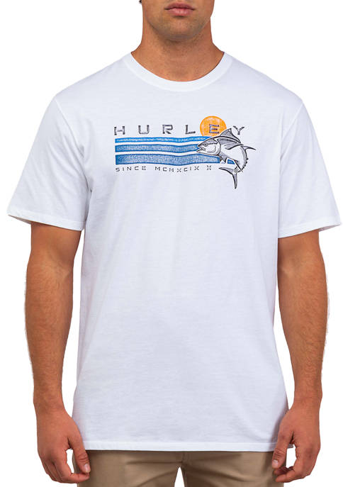 Hurley® Ahi Short Sleeve Graphic T-Shirt