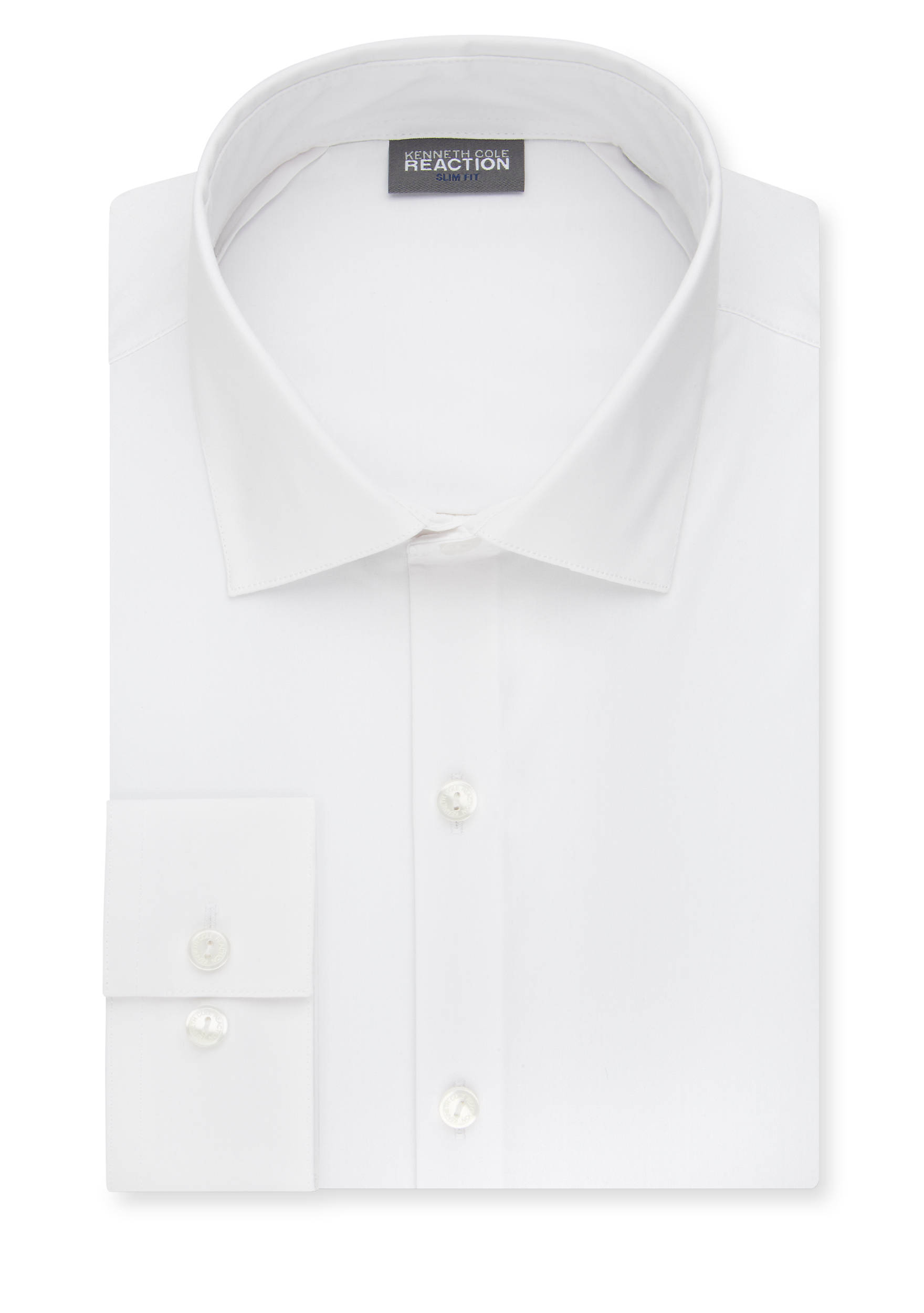 Kenneth Cole Reaction Slim-Fit Techni-Cole Stretch Dress Shirt | belk