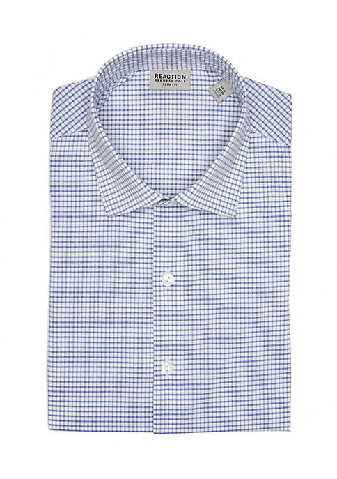 Kenneth Cole Reaction Slim Tek-Fit Button Down Shirt